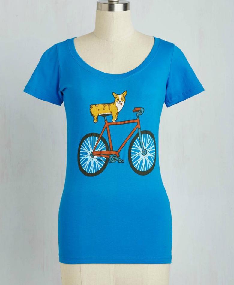 ModCloth Corgi T-shirt