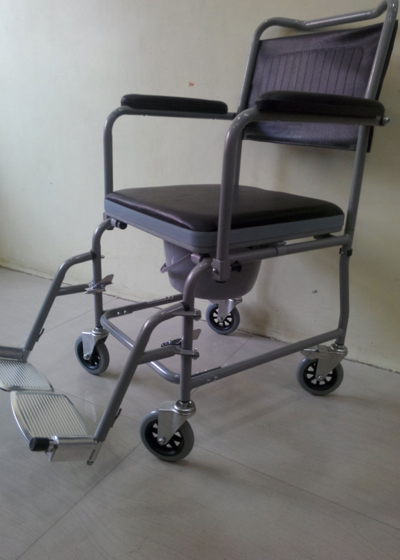 Types of Bedside Commodes & commode chair | Wheelchair India ...