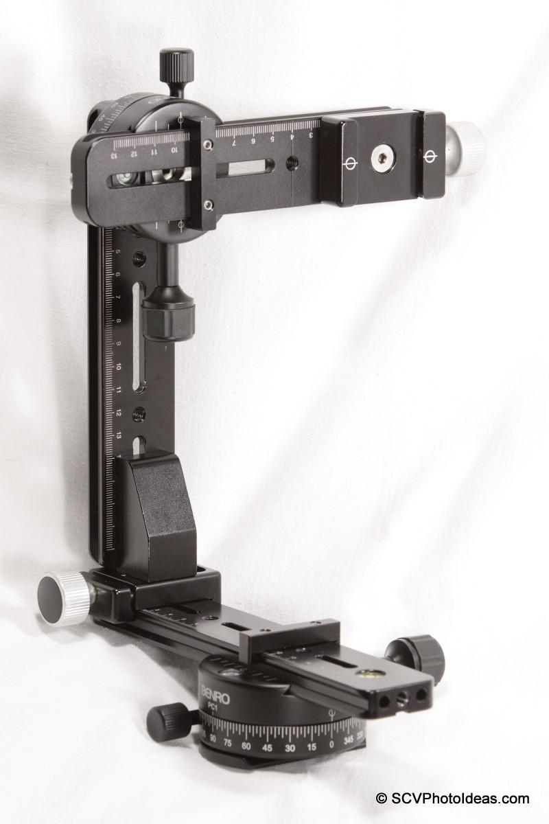 Multi Row Panorama Head Ver. II assembled - full view