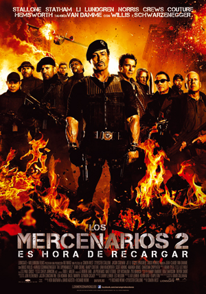 Wesley Snipes confirmado para Los Mercenarios 3