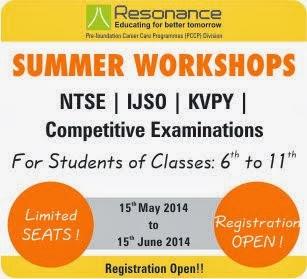 Summer Workshop 2014