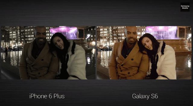 Samsung Galaxy S6 Edge Kamera 16MP