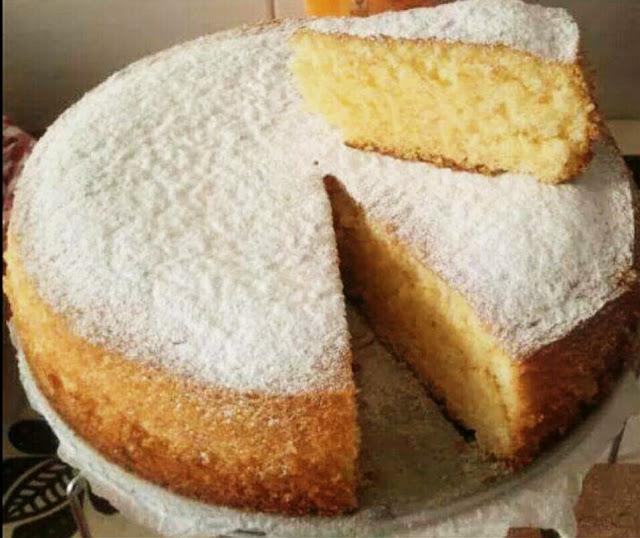 Bizcocho esponjoso de nata y vainilla - Bizcocho de limon esponjoso ...
