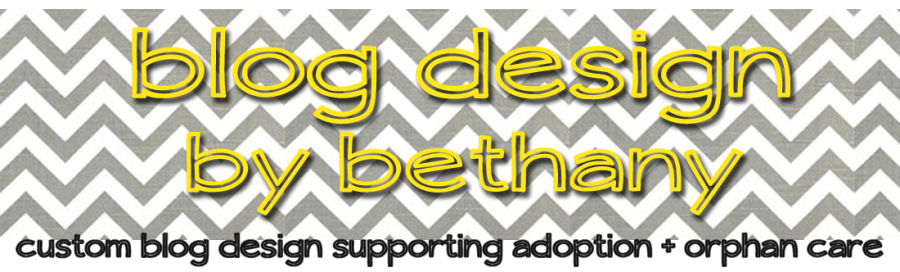 blog design by bethany
