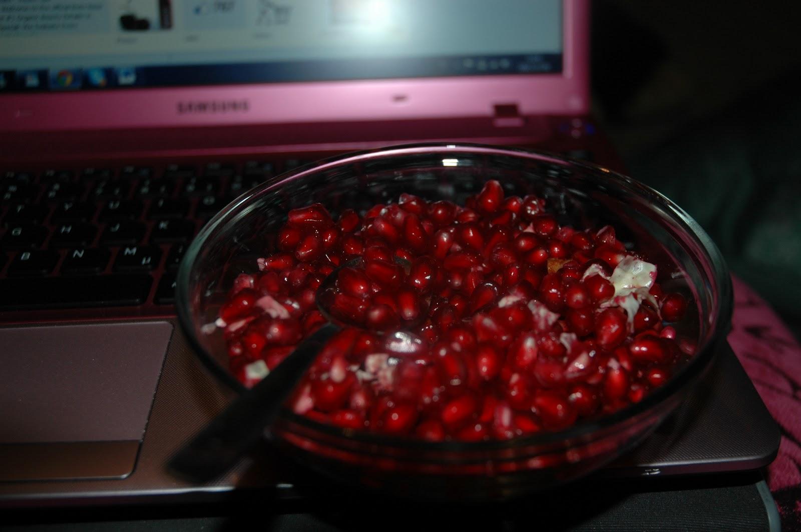 granatäpple på engelska