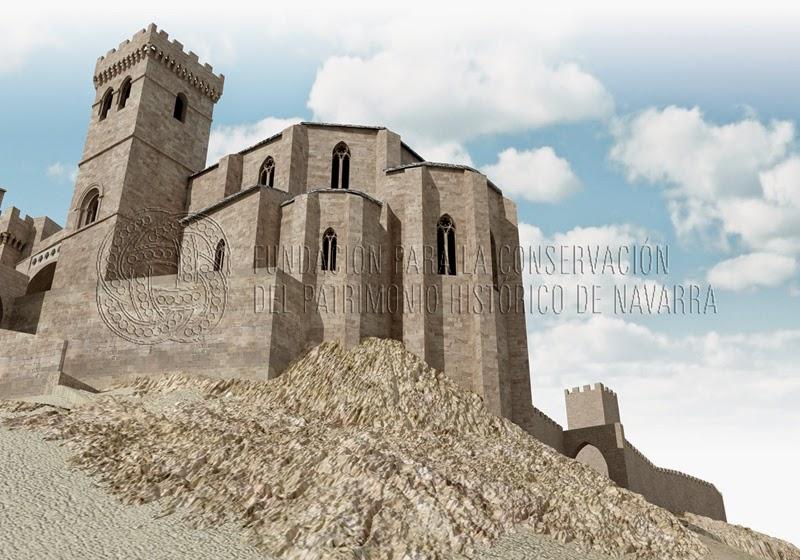 Uxue Uju atalaya de Navarra Siglo XIV Transformacin al