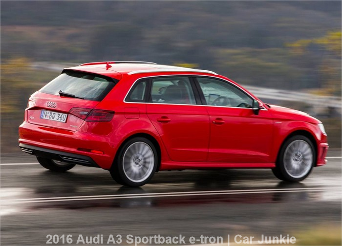 2016 audi a3 sportback e tron specs review car junkie. Black Bedroom Furniture Sets. Home Design Ideas