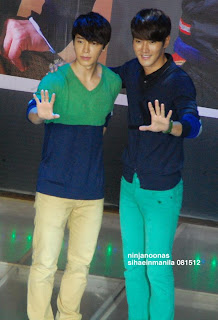 "Siwon and Donghae ""We are Super Junior"""