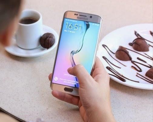 O Galaxy S6 Edge é o top de tela curva da Samsung