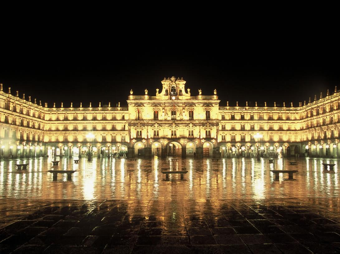 Picturespool spain tourist places pictures - On salamanca ...