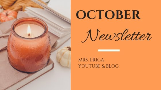 October Monthly Newsletter