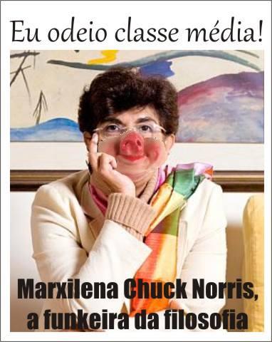 Graça No País Das Maravilhas Marilena Chauí é Referência De Ignorante