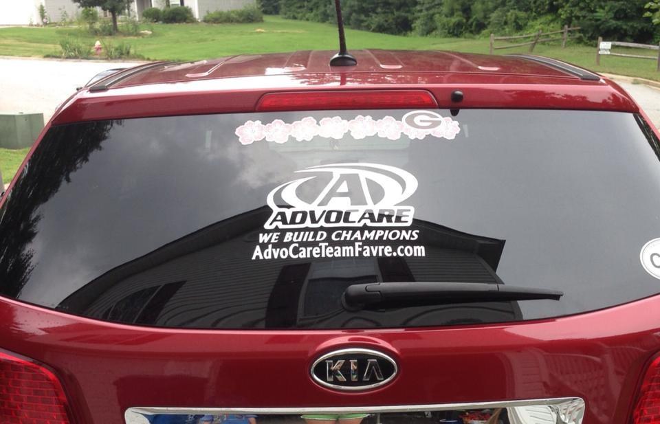 Advocare decals
