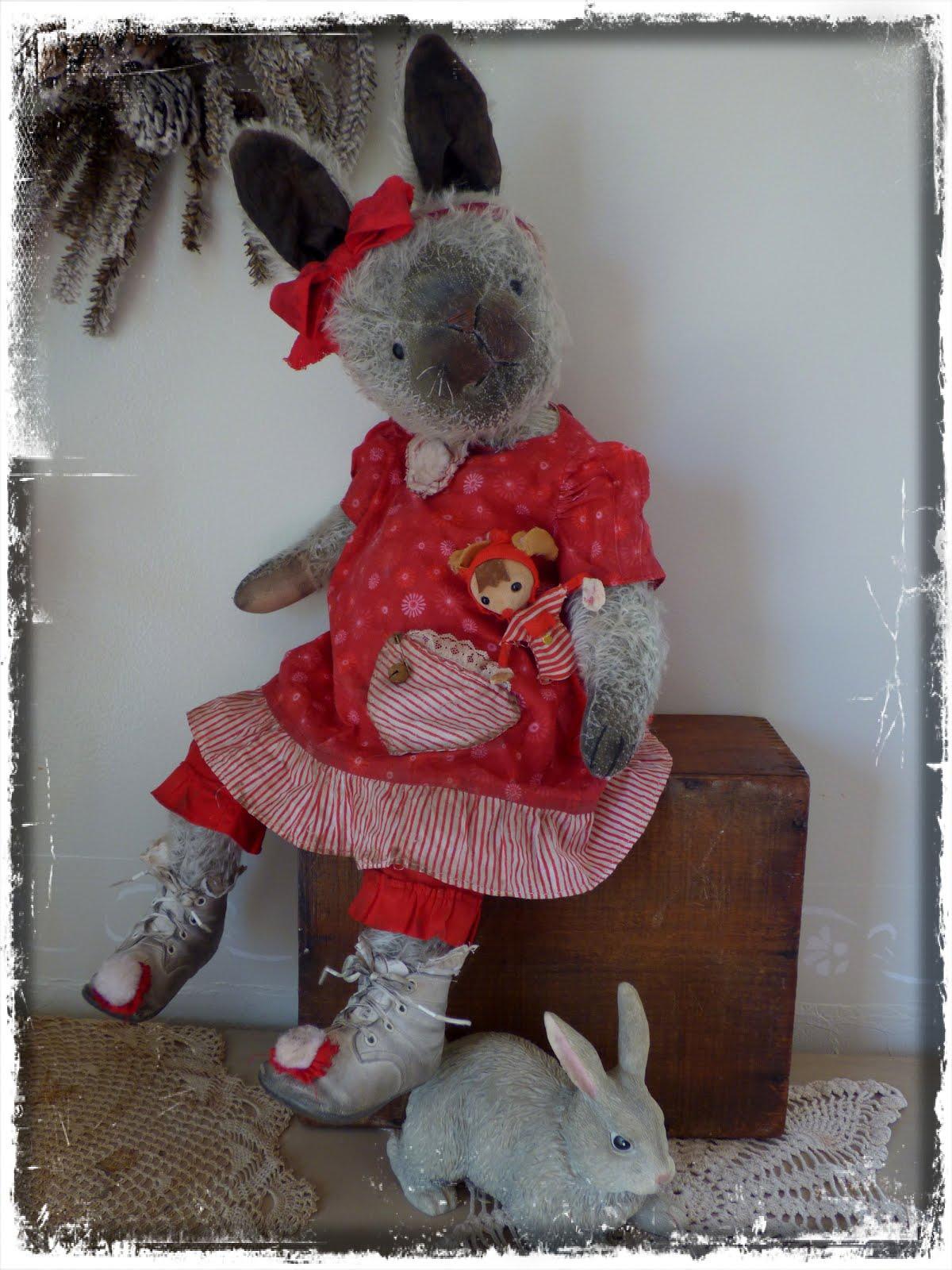 Blanchette Mohair Bunny