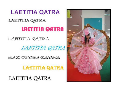 58 Radovic: Profile Laetitia Qatra Finalis Little Miss Indonesia