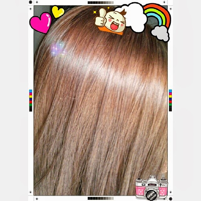 the colour was exceptionally vibrant under the sunlight and i noticed that it seemed to be a trademark of loreal hair dyes i was surprise by the milky - Phyto Coloration