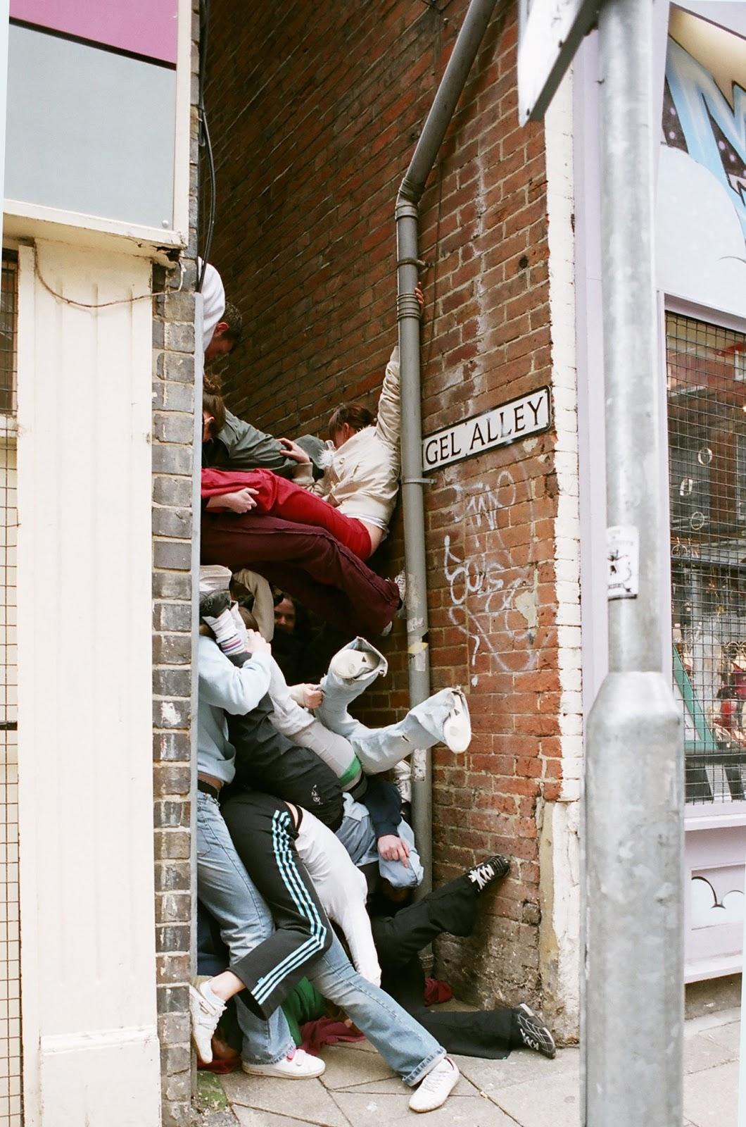 bodies in urban spaces willi dorner lisa rastl