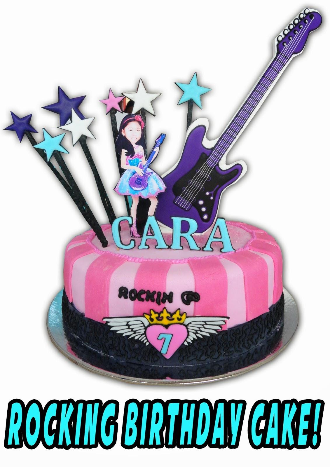 POPCAKES Rocking Birthday Cake