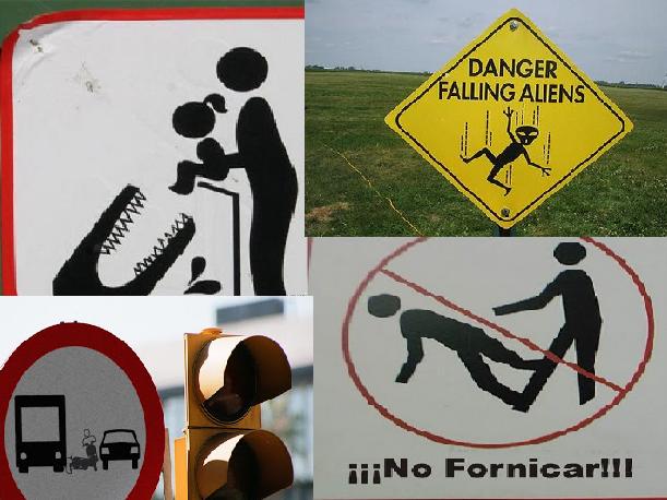 Las señales de Transito más extrañas del mundo imagenes