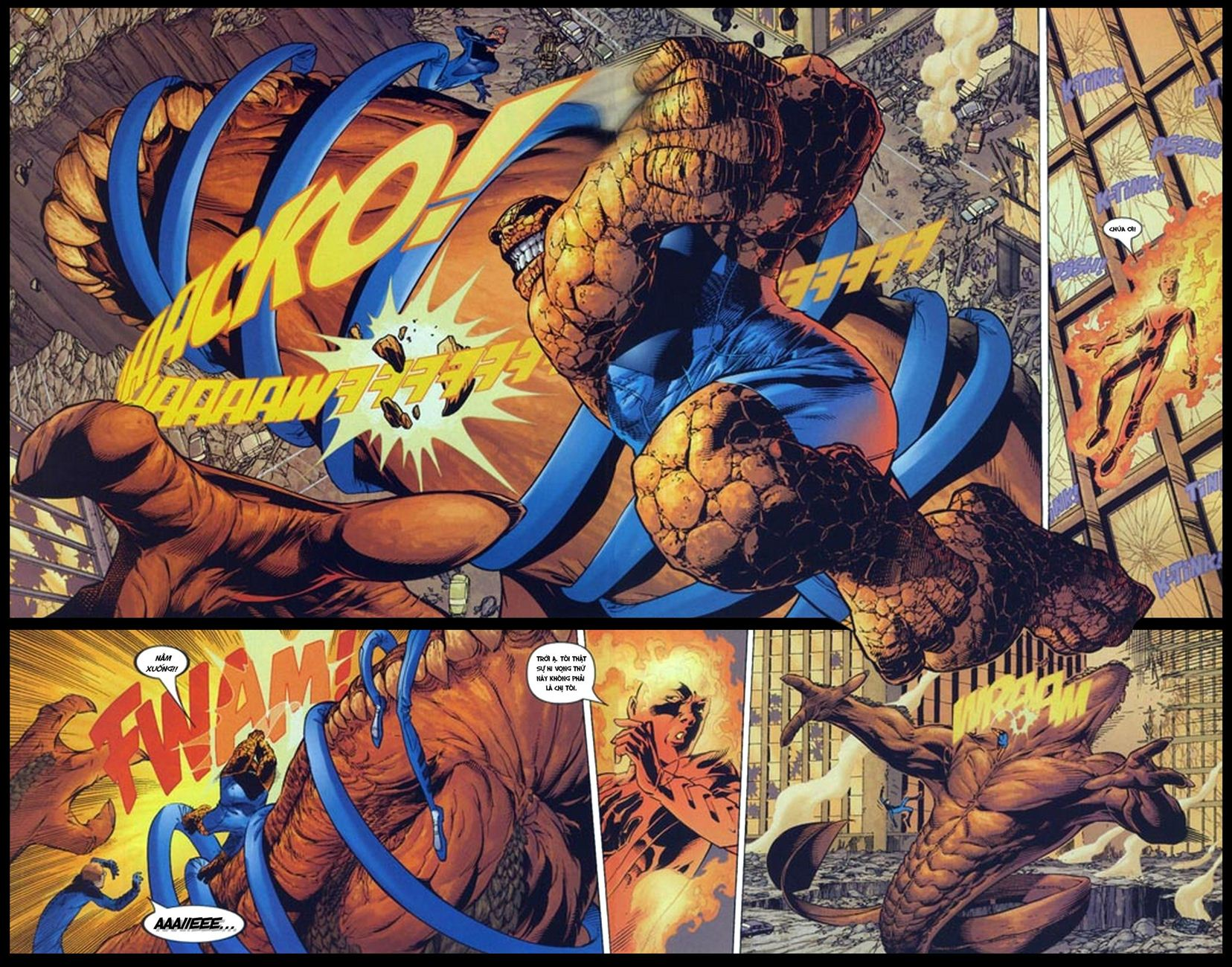 Ultimate Fantastic Four chap 5 - Trang 11