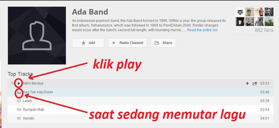 klik play
