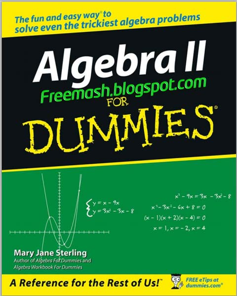 Algebra 2 for Dummies PDF Ebook Free Download