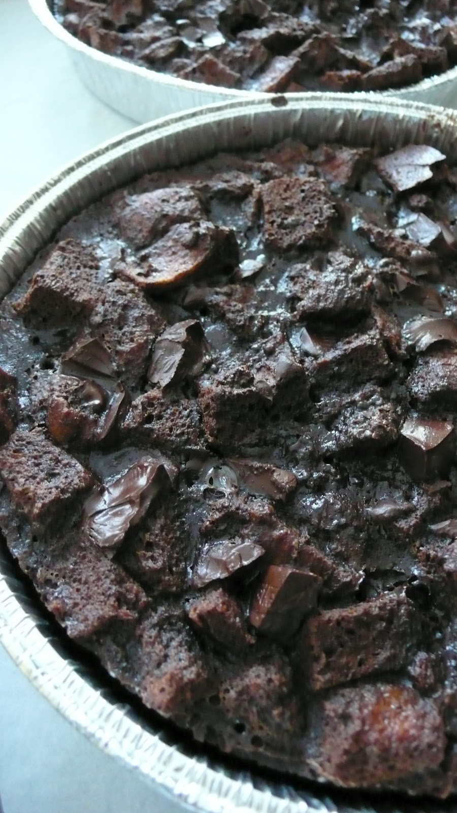 Dough and Batter: hot chocolate bread pudding