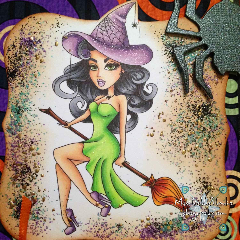 Sassy Studio Designs Sassy Witch