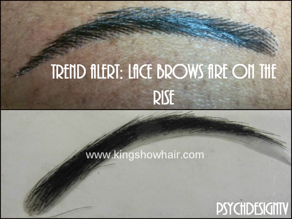 Trend Alert Lace Eyebrows Are On The Rise Beauty Fashion My Way