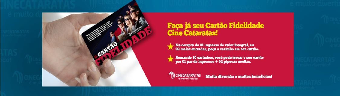 Cartão Fidelidade Cine Cataratas