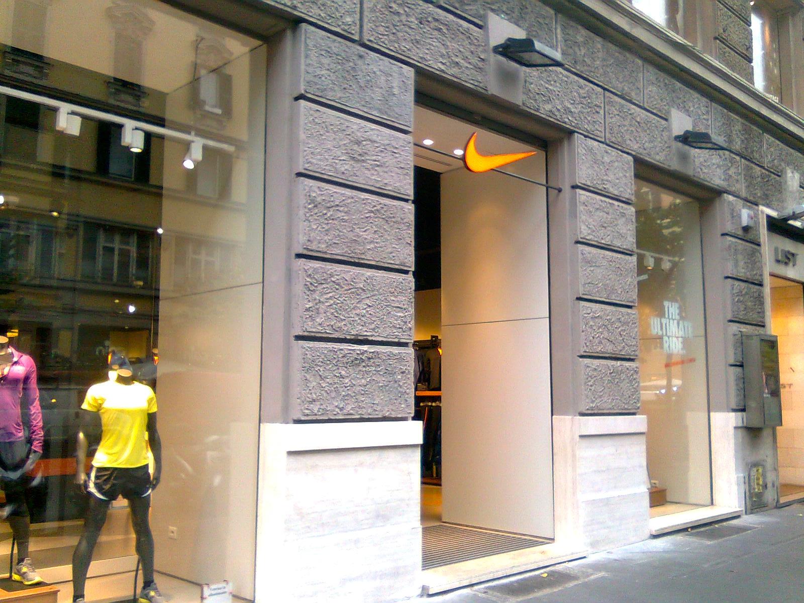 store nike italia