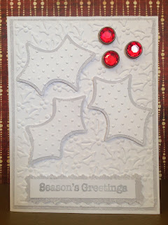 Cricut, Christmas Cheer, Christmas Card, Holly Berry