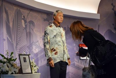 City Red, Carpet, Wax, Museum, Figure, South African, President, Nelson Mandela, Shah Alam, Malaysia, Madame Tussauds, Tokyo, Japan, Dies, Politician, Politics, World, News,