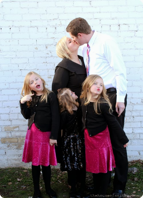 The best backdrops and settings for family photos
