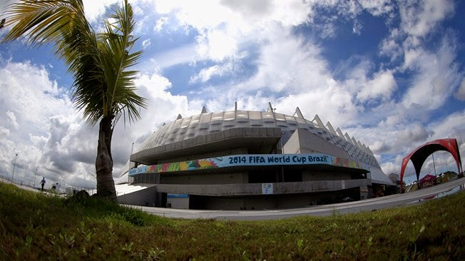 Stadium of Arena Pernambuco