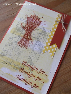 Truly Grateful, Stampin' Up!