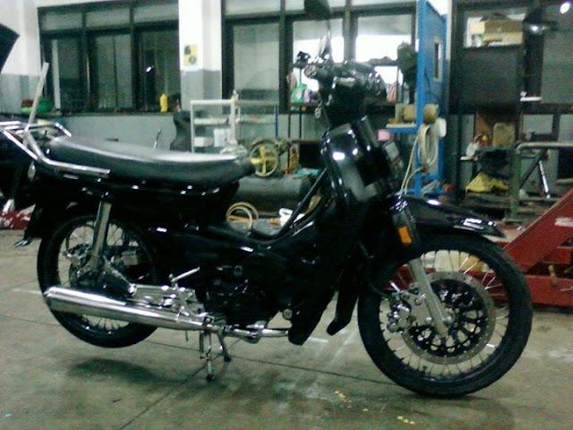 Gambar Modifikasi Motor Honda Astrea