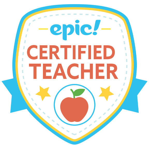 I'm an Epic! Certified Teacher