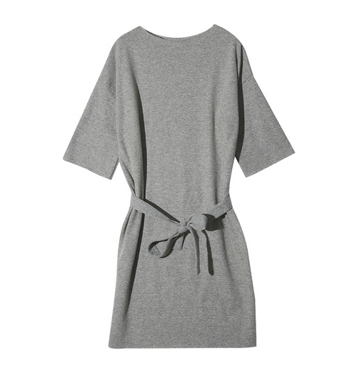 Belted Bracelet Sleeve Dress
