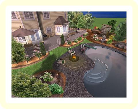 Landscape design online sketchup and online landscape for Sketchup landscape design