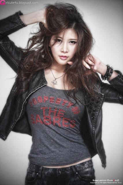 2 Hwang Ga Hi - Close-up-Very cute asian girl - girlcute4u.blogspot.com