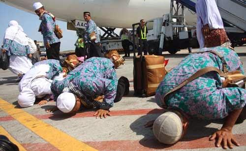 Kedatangan Jamaah Haji
