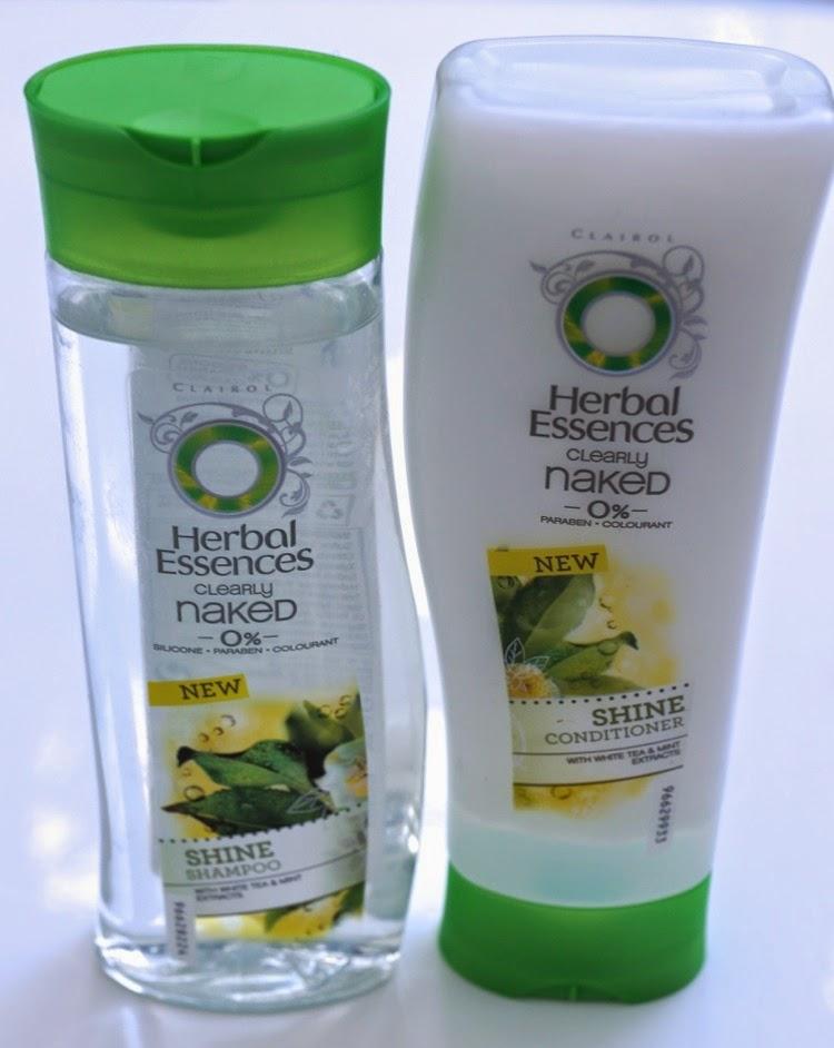 herbal essences naked hair
