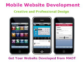 Mobile Website Builder - Mobile Apps Development Team