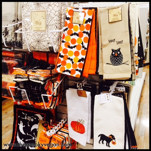 The Spooky Vegan: Halloween 2015 at HomeGoods