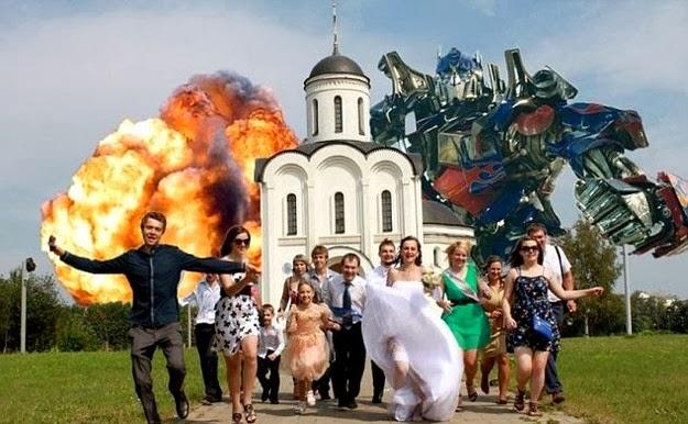 hilarious wedding party