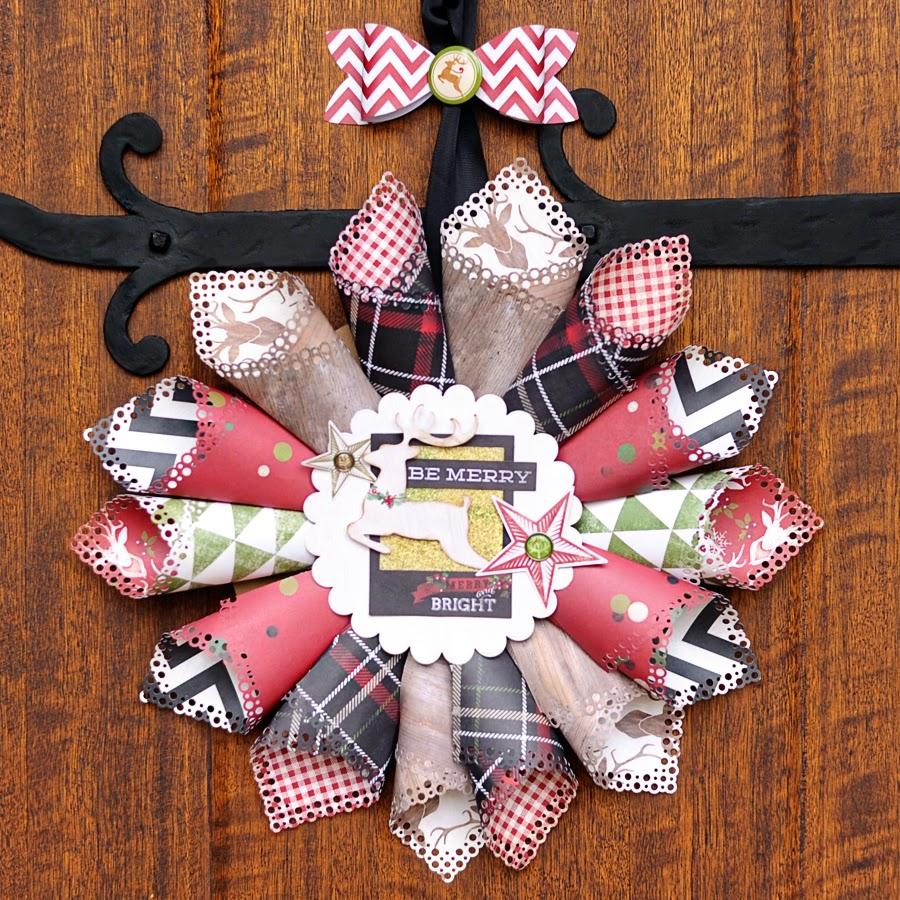 CreativiT: Sleigh Bells Ring wreath