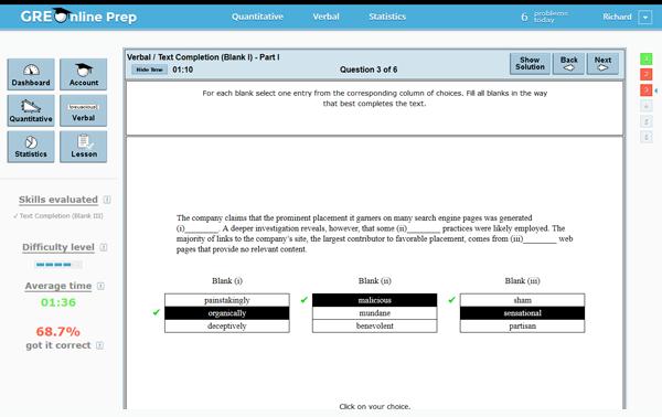 Online Free GRE Practice Test - Full Length | Kaplan Test Prep