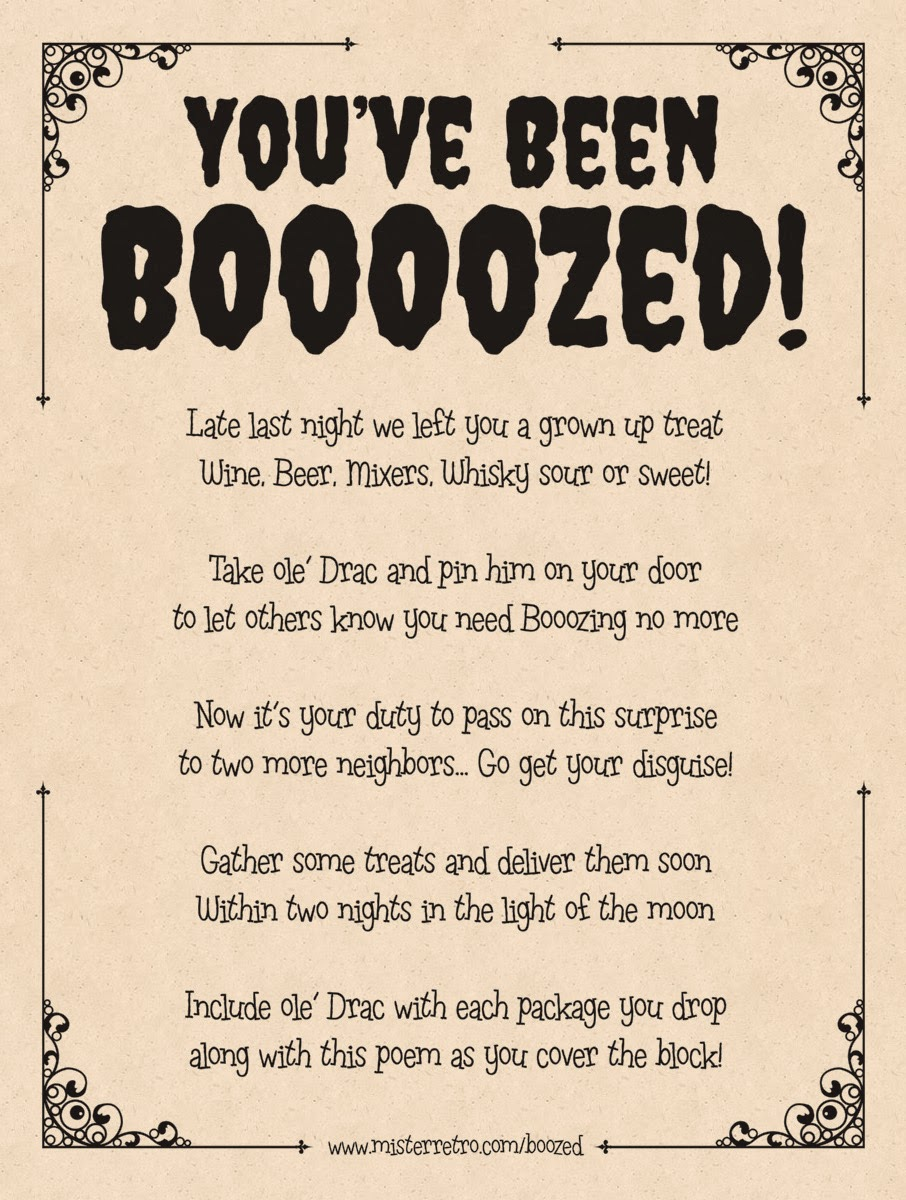 Obsessed image pertaining to you've been boozed printable