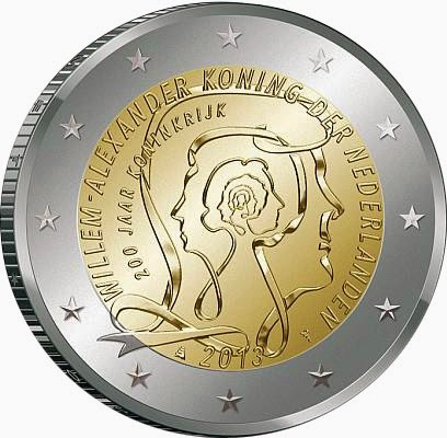 2 Euro Commemorative Coins 2013, Anniversary of the Kingdom of the Netherlands